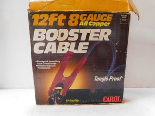 Booster Cable Jumper