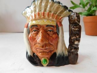 Royal Daulton   No  American Indian Mug