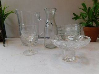 Misc  lot of Glassware