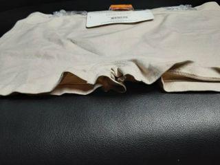 Seamless Boy Short Panties Sz  2X  Tan