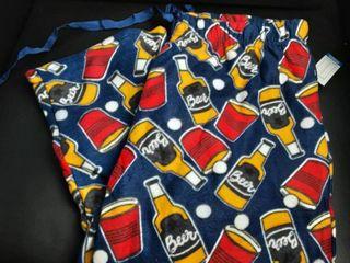 Mens Beer Pong Pajama Pants  Sz  large