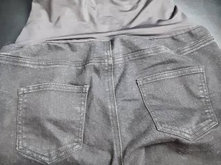 Time and Tru Jean Maternity Pants  Black  Sz  Small 4 6