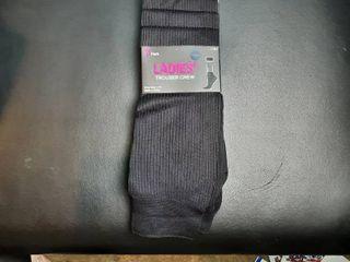 ladies 3 Pack Trouser Socks Size  4 10