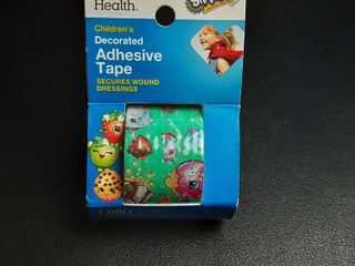 Cvs Children s Decorated Adhesive Tape Shopkins Trolls Secures Wound Dressings 4  Shopkins