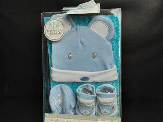 le BeBe Favorite 3 Piece Set newborn Gift set  Size  0 6m