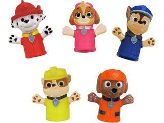 Nickelodeon Paw Patrol Bath Finger Puppets