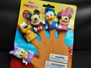 Disney Mickey Mouse   Friends Bath Finger Puppets