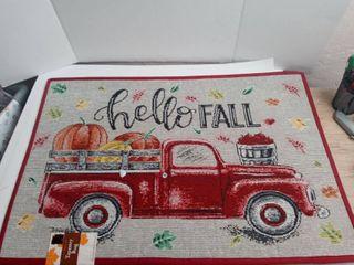 Hello fall rug