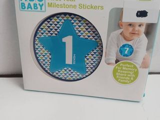 First year milestone stickers