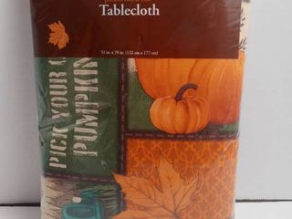 Perfect harvest table cloth