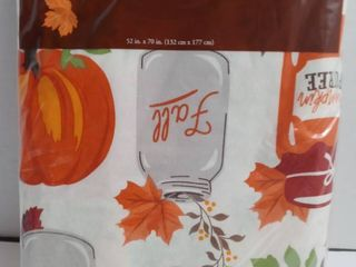 Perfect harvest tablecloth