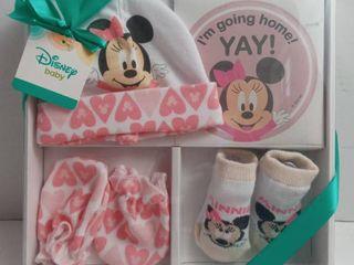 Minnie Mouse Take Me Home Set Hat  Socks   Mittens