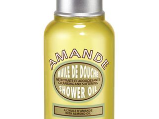 Almond Cleansing   Soothing Shower Oil  Travel Size  2 5oz