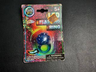 Flashing Toy Ring  Blue