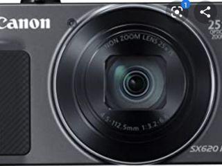 Canon PowerShot SX620 Digital Camera w 25x Optical Zoom   Wi Fi   NFC Enabled  Black    Memory Card Bundle  Retail 238 49