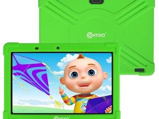 Contixo 10  K101 Kids Tablet Android 9 0 Bluetooth Dual WiFi Camera Tablet for Kids Parental Control w Kid Proof Case  Blue  Retail 109 99