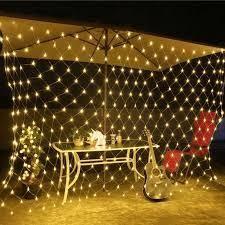 lED Net Grid String lights w  Wall Plug