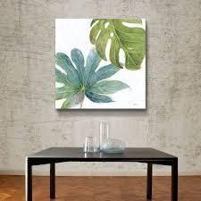 Artwall Tropical Blush VII Canvas Art