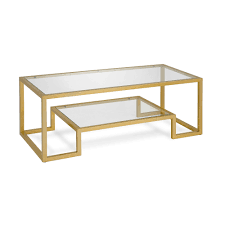 Athena Glam Hand Crafted Geometric Coffee Table