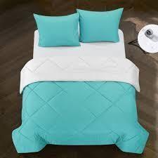 Porch   Den Rider Solid Reversible Comforter   Queen