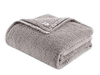 Woolrich Burlington Berber Sherpa Blanket Bedding   Full Queen