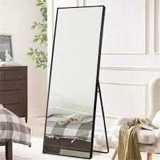 large Full length Floor Mirror w  Stand
