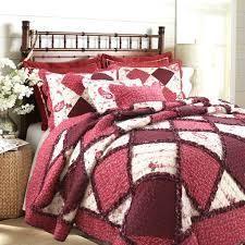 Annabel Heirloom Patchwork Cotton Quilt Set   King