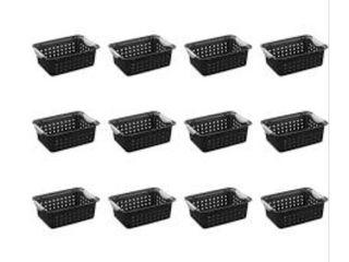 Sterilite Small Baskets   Set of 12