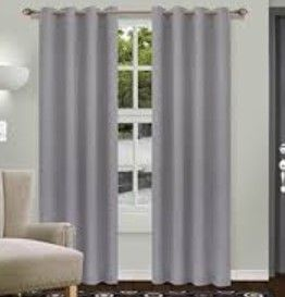 Superior linen Insulated Thermal Blackout Grommet Curtain Panels   Set of 2