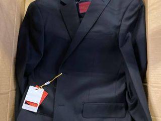Mantoni Black Vested Wool Suit