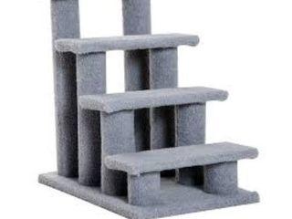 PawHut Gray Pet Stairs