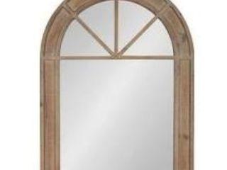 Kate and laurel Stonebridge Rustic Wooden Arch Mirror