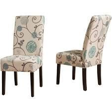 Pertica Contemporary Fabric Dining Chairs by Christopher Knight Home   Set of 2