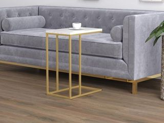 Safdie  amp  Co  C Shaped Accent Table
