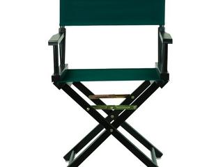 18  Director s Chair Black Frame Hunter Green Canvas