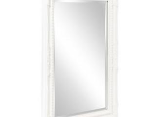 Brand New 24  x 36  Queen Ann Rectangular White Mirror   Retail  250 99