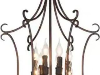 The Gray Barn Flying Turtle 9 light Rustic Chandelier with Rubbed Brown Finish  Retail 333 99