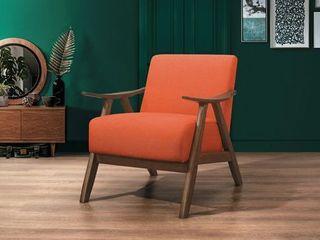 Topline Home Furnishings Orange Accent Chair Orange