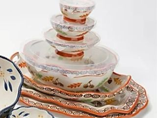 Temp tations 7 Piece Specialty Nested Serving Set   harvest