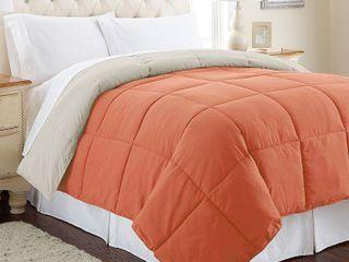 All Season Down Alternative Reversible Comforter   King Size