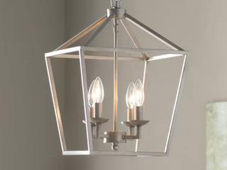 Carmen 4   light lantern Drum Pendant