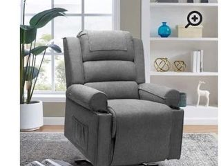 kuehl 17 5a lift assist recliner fabric taupe