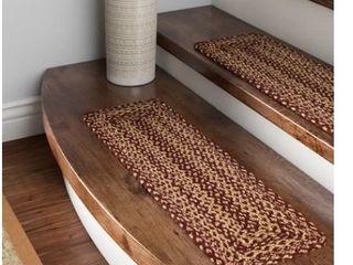 Allerton Red Brown Stair Tread   set of 8