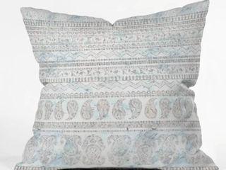 Gray Schatzi Bodhi Paisley Sandy Throw Pillow   set of 2