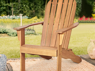Set of 2   Grinstead Solid Wood Folding Adirondack Chairs  Retail  399 99