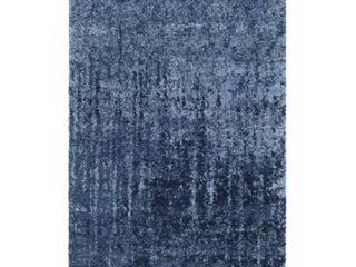 Socorro Abstract light Blue   Blue Area Rug