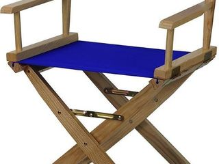 Casual Home 18  Director s Chair   Royal Blue Set of 2