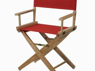 Casual Home 18  Director s Chair   Red set of 2
