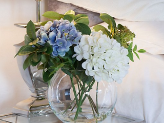 Faux Floral Hydrangea Bouquet by Peony