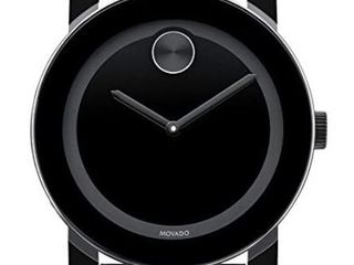 Movado Bold large Black Polymer Mens Watch 3600047  Retail 402 99